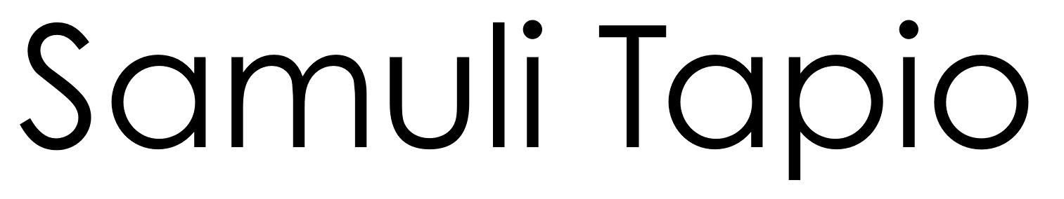 Samuli Tapio